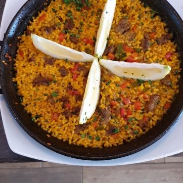 Paella di filetto uruguaiano